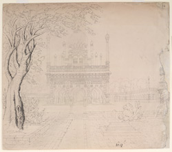 Mosque of Sidi Masud Khan, Adoni. March 1834